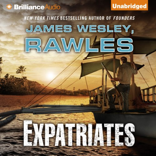 Expatriates audiobook cover art
