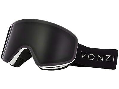 VonZipper Encore Goggle (White Satin/Wild Blackout) Goggles
