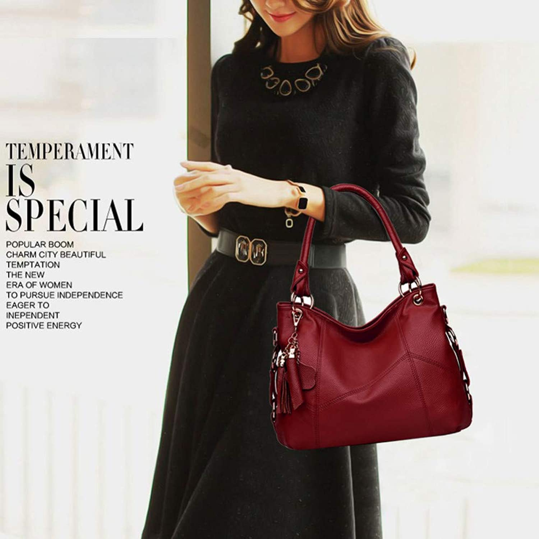 JQSM Women Messenger Bags for Women Designer Bag Retro Tote Shoulder Bags Top-Handle Bags Vintage 518