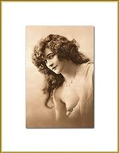Art Deco Semi Nude New 4x6 Vintage Postcard Image Photo Print VN36