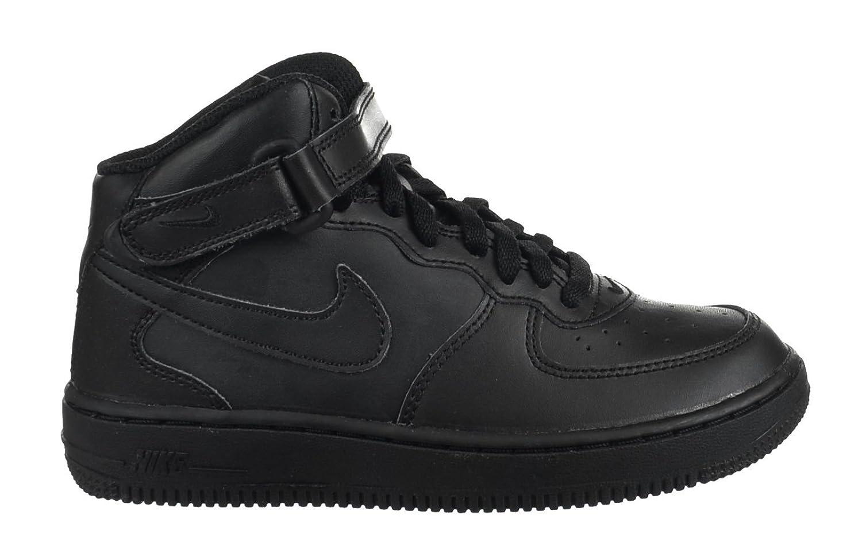 [ナイキ] Air Force 1?Mid (PS) Preschool Kids '靴ブラック