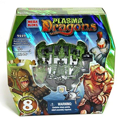 Mega Bloks construcciones Dragons Battle Realm Booster Pack 9449Juguete, Multicolor, 65541094499