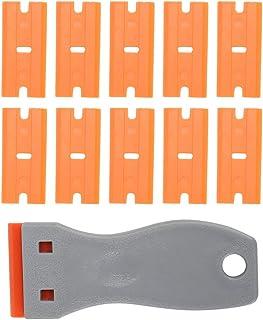 Socobeta 10 st rengöringsskrapa dekal klistermärke borttagningsverktyg plastskrapa rengöringsklistermärke för familj konto...