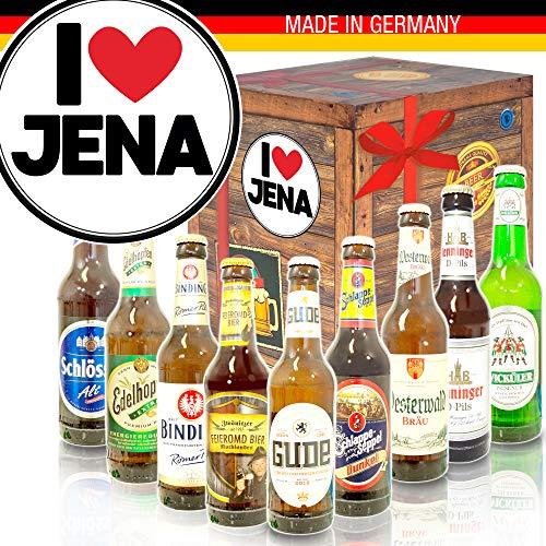 I love Jena/Bier aus Deutschland/Geschenkidee Jena