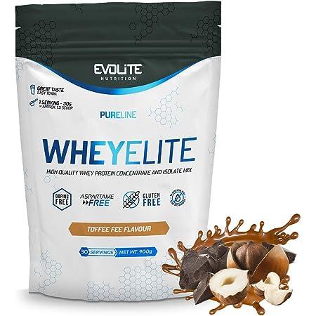 EVOLITE Nutrition Elite Whey Protein - 900 g: Amazon.es ...