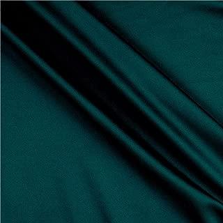 Fabric Merchants Techno Scuba Knit Fabric, Green Emerald, Fabric By The Yard