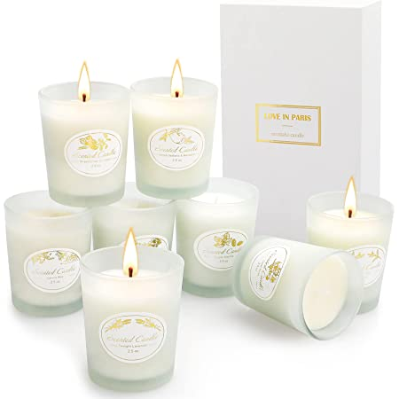 Modern Jar Glass Soy Candle Custom Gift Ginger Tea BESTSELLER NOV 2020 Home Decor