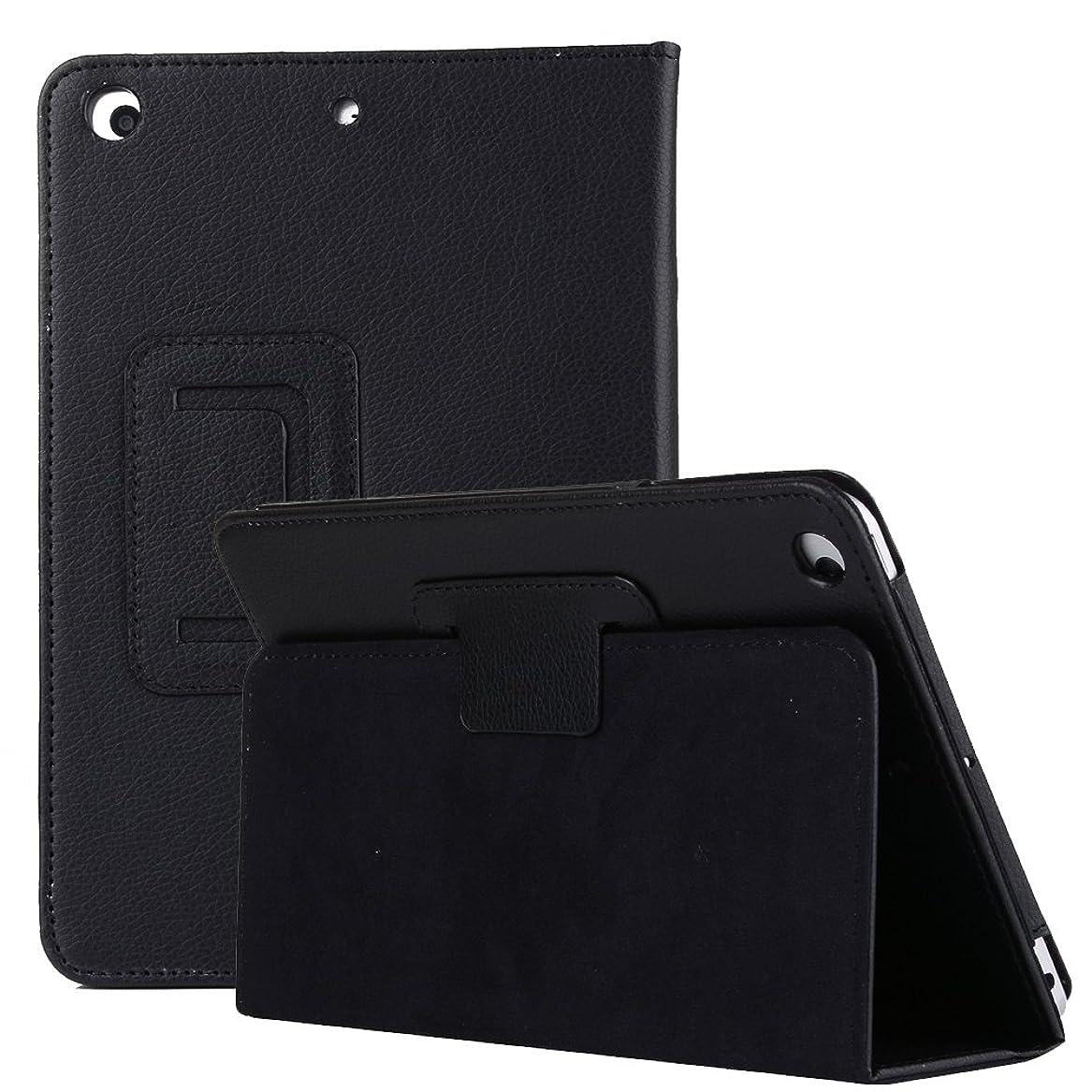 昆虫倫理的一時解雇するGalaxy tab A 8.0薄型携帯ケース2019、TechCodeライト級スマートブックケース、多角度マイクロファイバーの裏地角度保護カバーを調べて、サムスンGalaxy tab A 8.0インチ2019 SM-T 290/T 295に適用されます。 (ブラック)
