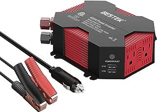 BESTEK Car Power Inverter 400W Modified Sine Wave Inverter 400W for Car with USB Auto Inverter 12v to 110v Dc to Ac Electronics Devices Inverter