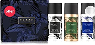 Ted Baker Mens Brockley Body Spray Trio Gift Set