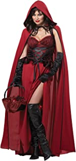 Women's Dark Red Riding Hood Adult