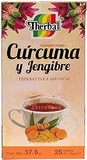 Therbal Infusion Curcuma Jengibre - 25 Sobres