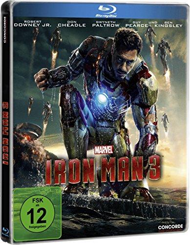 Iron Man 3 - Steelbook [Blu-ray] [Limited Edition]