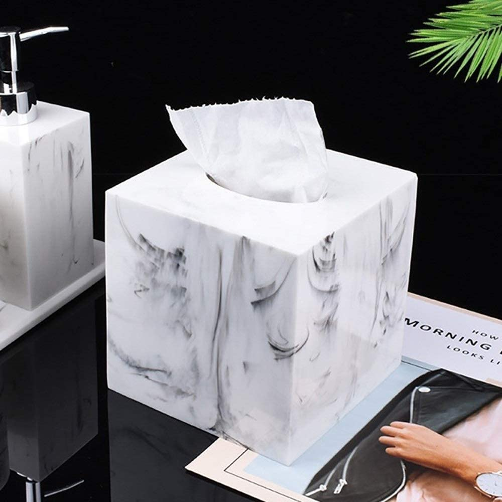 Tissue Box Cover Facial Napkin Holder O Cheap mail order shopping Living for Room Miami Mall Bathroom
