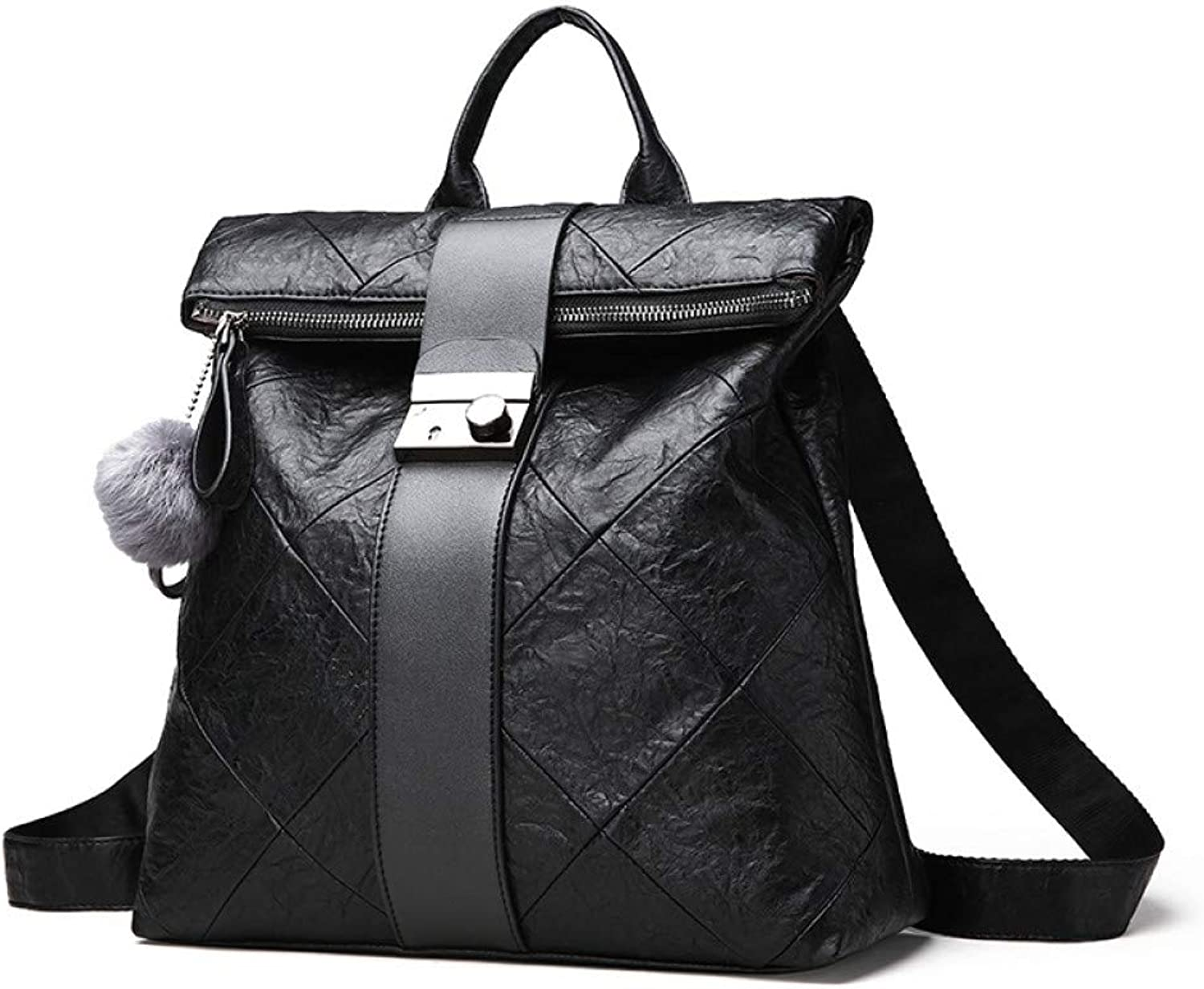 VITANB 11% Fashion New Anti Theft Backpack Women Backpacks Solid Fashion School Bags for Girls Pu Leather Backpack
