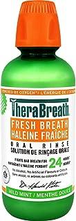 TheraBreath Fresh Breath Oral Rinse - Mild Mint | Fights Bad Breath | Certified Vegan, Gluten-Free, & Kosher | 473ml