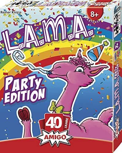 AMIGO Spiel + Freizeit 02008 LAMA Party Edition Kartenspiel