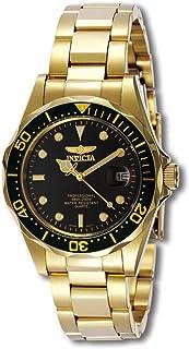 ساعة انفيكتا برو دايفر سوداء للرجال بسوار من الستانلس ستيل - INVICTA-8936