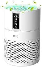 Purificateur d'Air Anion, DIKI Filtre à air HEPA intelligent avec Indicateur de température et d'humidité, Ultra Silencieu...