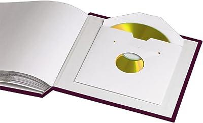 Hama 00106207 Púrpura álbum de Foto y Protector - Álbum de fotografía (180 mm, 175 mm, Púrpura, 60 Hojas, 60 Hojas)