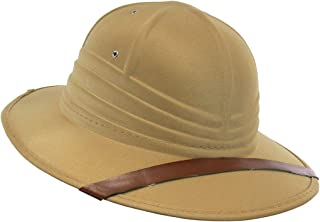 0548aaf34fb08 Nicky Bigs Novelties Safari British Pith Helmet Costume Hat Tan