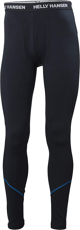 Helly Hansen Lifa Merino Midweight Pant Pantalon, Hombre, Navy, XL