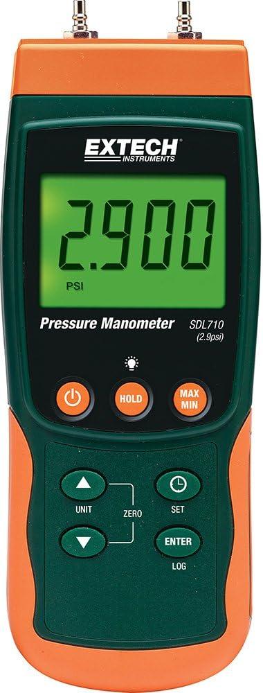 別倉庫からの配送 Extech SDL710 Differential Manometer Datalogger 超人気 Pressure