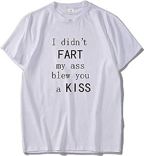 I Did Not Fart Funny Tshirt Men Gift for Friends Tees Cotton Harajuku Comfortable T Shirt EU Size