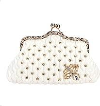 Fawziya Kiss Lock Crystal Butterfly Purses And Handbags For Women Mini Bag