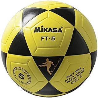 MIKASA FT5 - Balón termosoldado, Color Blanco/Azul