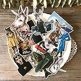 BLOUR 17 Uds.Pegatinas de Ropa de Revista para bebés pequeños y Bonitos, Pegatinas para Manualidades y álbumes de Recortes, Juguetes para niños, Pegatina Decorativa para Libros, papelería DIY