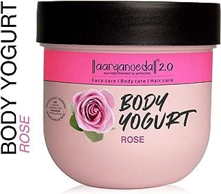 Aryanveda Rose Body Yogurt Moisturizer, 200 mL
