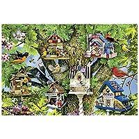 ジグソーパズル ペットシリーズ木製ジグソーパズル - 鳥文明 - 大300/500/1000個アダルト解凍子供の教育玩具ユニークなギフトのホームデコレーション BBJOZ (Size : 1000pcs)