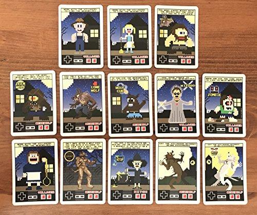 Home Run Games 8-Bit Mini Werewolf and Mafia
