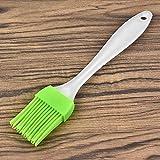 Pasta de silicona Cepillo para hornear Cabañas de horneado Barbacoa Pasta Pan Pan Crema de aceite Cocción Herramientas de Basting Accesorios de cocina Gadgets (Color : Green)