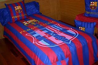Montse Interiors, S.L. Funda nórdica FC Barcelona FUTFN15 (para Cama de 90 (Nórdico de 150))