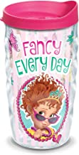 Tervis 1299950 Disney Nancy Fancy Every Day Insulated Tumbler with Wrap and Fuschia Lid, 10oz Wavy, Clear