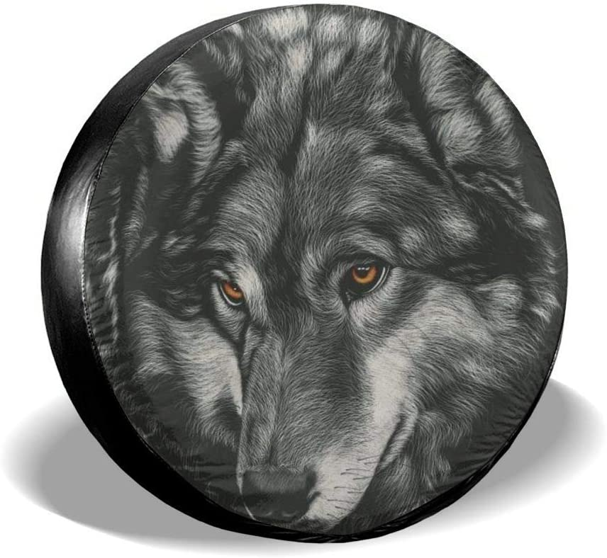 Markui Spare Tire Cover Reservation Waterproof List price Wolf Universal Covers Wheel