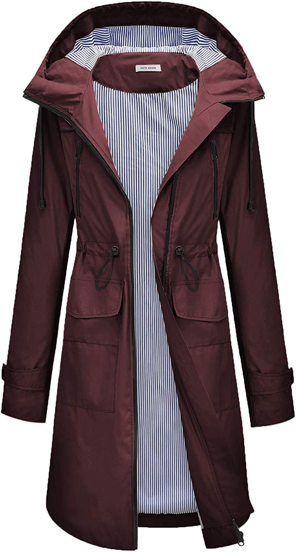 Women's Weekly update Raincoats Direct stock discount Windbreaker Rain Waterproof Jacket Outdoor Hoo