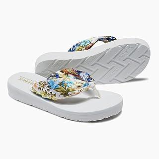 女性のスリッパ夏の厚い底滑りやすいかわいい女性のビーチの靴休日のサンダル ( 色 : 3 , サイズ さいず : US:7.5\UK:6.5\EUR:40 )