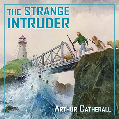 The Strange Intruder (Adventure Library) audiobook cover art