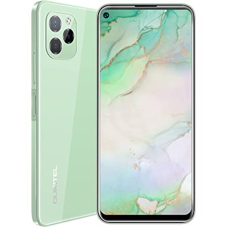Sim-free & Unlocked Mobile Phones,OUKITEL C21 Pro 2021 Android 11 Smartphone,6.39 Inches 64GB+4GB 4000mAh 21MP Sony Camera Dual SIM 4G Mobile Phones Sim Free Unlocked SD256GB Full Glass Design,Green