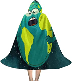 REDCAR Hooded Cloak Cape Solar System Song StoryBots Funny Party Vampires Cosplay for Kids Girls Boys