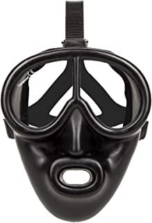 Full Face Black Rubber Dive Mask - Scuba Mask