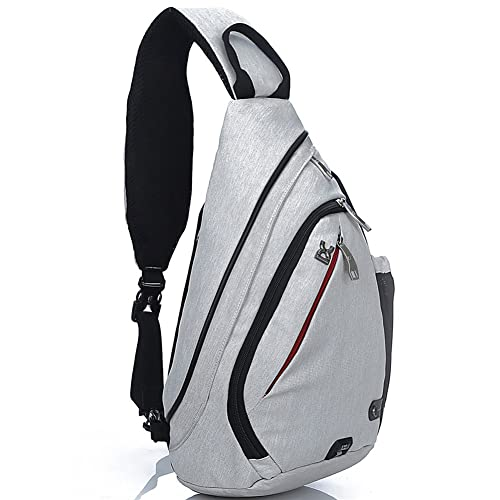13645c64ff10 FREEMASTER Chest Backpack Sling Bag Sport Rucksack Cross Body Bags for  Camping Gym Cycling Biking School
