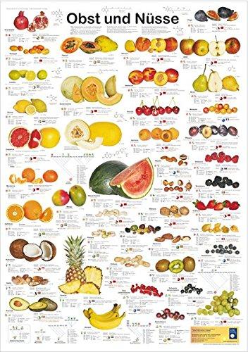Obst und Nüsse (Planet-Poster-Box)
