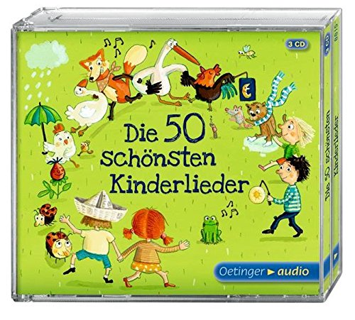 Die 50 schönsten Kinderlieder (3er CD Box)