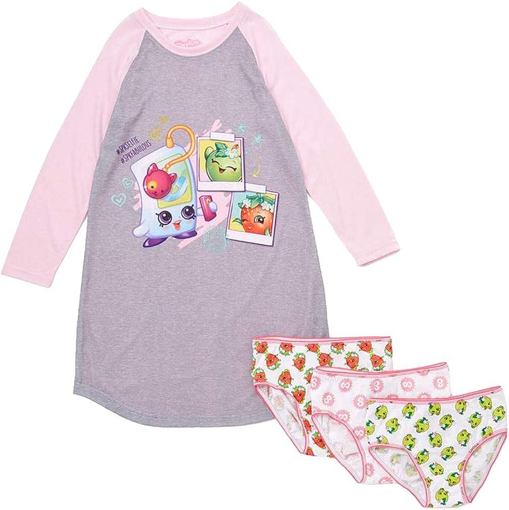 Shopkins #Spkfabulous Nightgown and 3Pk Underwear 8