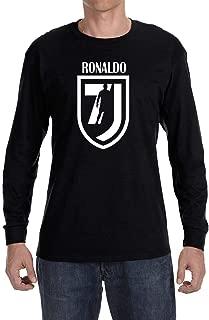Tobin Clothing Black Ronaldo 7 Long Sleeve Shirt