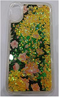 IPhone X Cover, Rose Shape with Animated Water Background